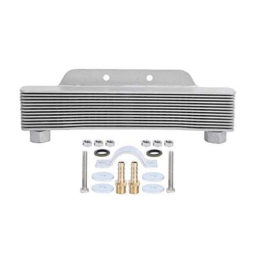 XINGFUQY Cubierta De La Carcasa del Termostato Manta Automática Calentador Automático 13 Filas Enfriador De Aceite del Motor Encaje En Enfriamiento para 12 5CC-250CC