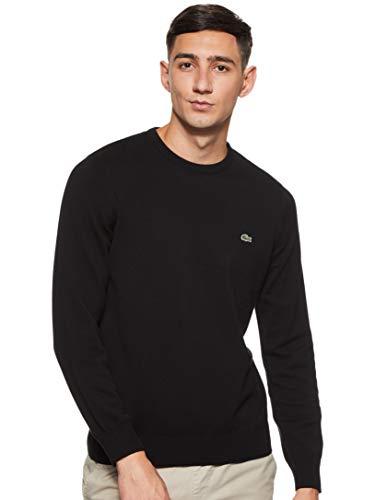Lacoste Herren Ah3467 Pullover, Schwarz (Noir/Farine-Noir N72), X-Large (Herstellergröße: 6)