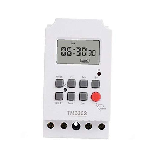 220v De Alta Potencia Segundo Circuito De Control Lcd Programable Digital Temporizador Controler De Distribución De Energía De Control Del Interruptor Temporizador 2-tm630s