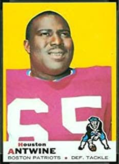 1969 Topps Regular (Football) card#108 Houston Antwine of the Boston Patriots Grade Near Mint