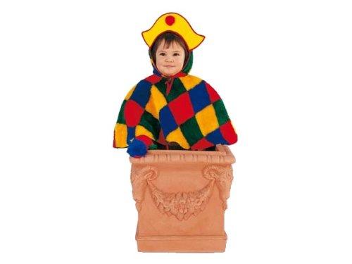 Rio–103337–Costume Bambino–Il Piccolo chinelle in Peluche–1–2Anni
