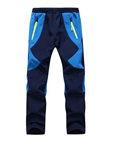 CAMLAKEE Pantalones Trekking Niña - Pantalones de Montaña Niño Impermeables Transpirable -...