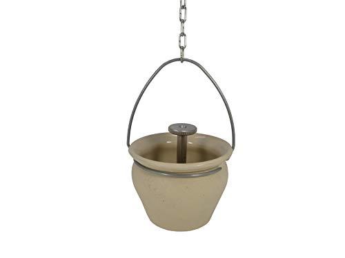 Eliga Aroma-/ Aufgusstopf sand-beige für Sauna mit Tropfventil, 570 g