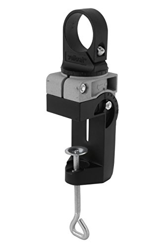 Wolfcraft 4800000 1 Support de Machines en Fonte Grise Orientable de 360° Horizontalement Et de 90° Verticalement Collerette Euronorme Ø 43 Mm