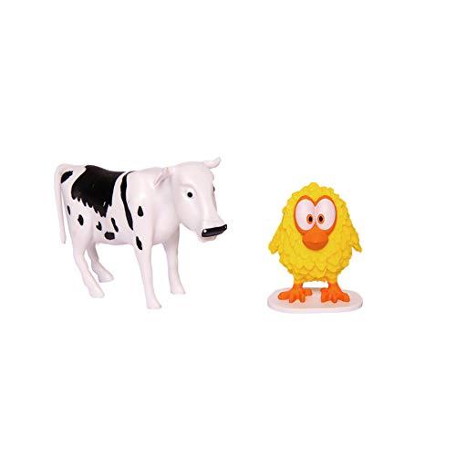 La Granja de Zenon Adventure Action Figures Set , 2 Collectible Action Figures, Toys for Kids Ages 3 and Up