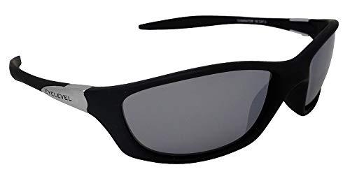 Terminator - Gafas de sol deportivas con espejo plateado Cat-3 UV400