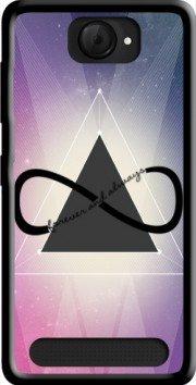 MOBILINNOV Archos 40d Titanium Pyramide Infinity - Triangle Silikon Hülle Handyhülle Schutzhülle - Zubehor Etui Smartphone Archos 40d Titanium Accessoires
