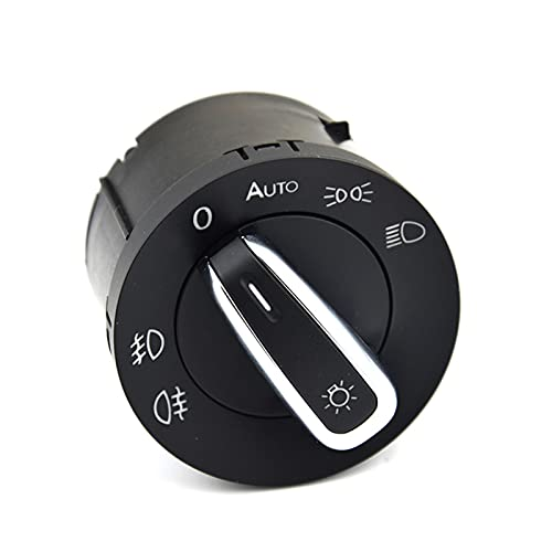 XIAOPENG Tucki Interruptor de Faros automáticos Ajuste para VW Golf Jetta MK5 Tiguan MK6 Niebla antiniebla Plazo Ajuste para Caddy Passat B6 CC Polo Chrome