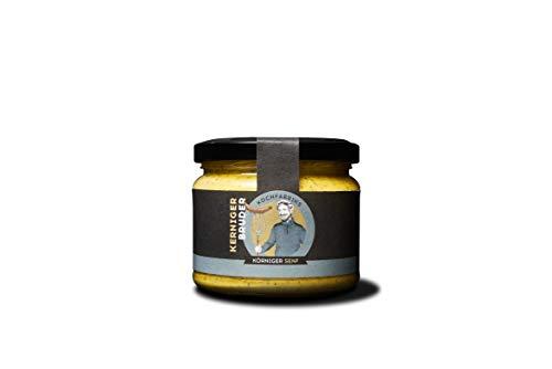 KOCHfabrik Kerniger Bruder 250ml herber körniger Senf mittelscharf verfeinert mit Gewürzen und Kräutern | vegan glutenfrei ohne Konservierungsstoffe und Geschmacksverstärker | 1x Senf im Glas
