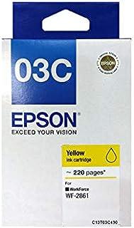 [Original] Epson 03C 03D Black Cyan Magenta Yellow Ink Cartridge For WF-2861 T03C T03D C13T03C190 C13T03C290 C13T03C390 C1...