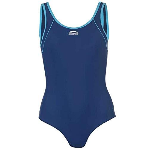 Slazenger damski strój kąpielowy / kostium kąpielowy granatowy 14