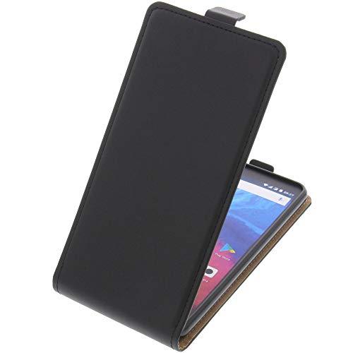 foto-kontor Tasche für Archos Core 60s Smartphone Flipstyle Schutz Hülle schwarz
