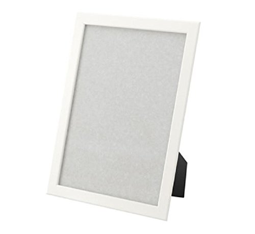 FISKBO Frame 8 1/4-by-11 3/4-inch Simple frame for documents or photographs (1, white)