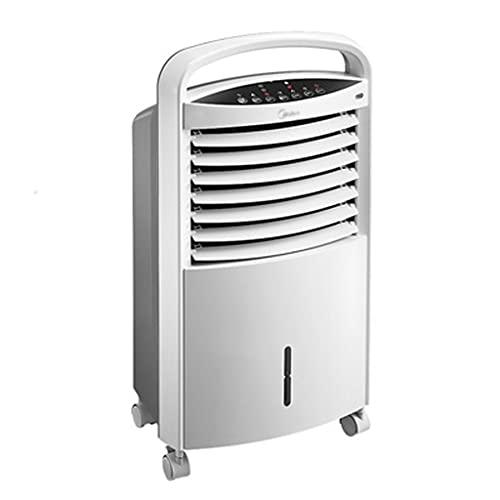GYF Ventilador De Aire Acondicionado,Climatizador Evaporativos,3 Velocidades, Temporizador,Mando A Distancia, Aire Acondicionado,Blanco 45.4X37.2X75.5C