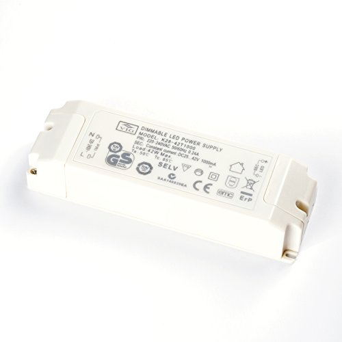 LED Driver VIG dimmbar 42W 1000mA 25-42V K28-42T1000 Power Supply dimmable