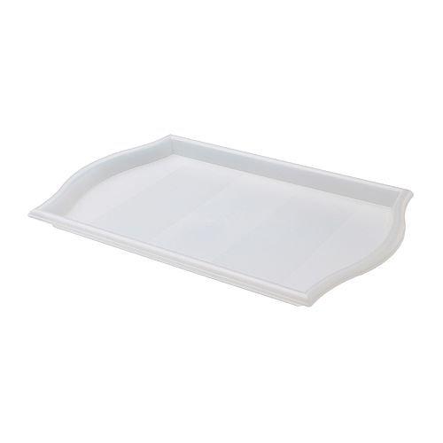 IKEA SMULA - Bandeja, 52x35 cm transparente