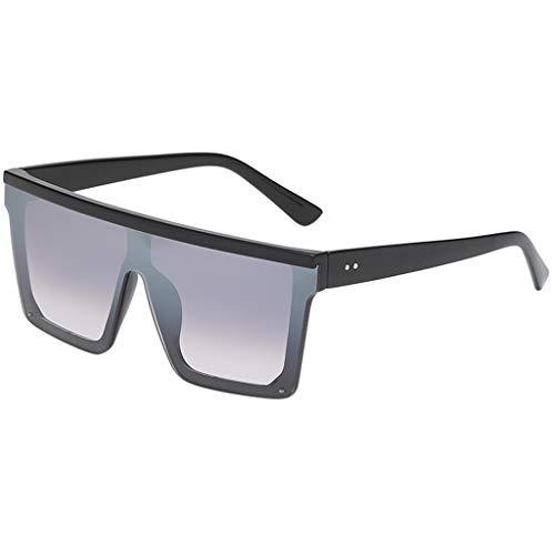 Gafas de sol de Hombres y Mujer Clásico Retro Gafas Fashion Punk Sunglasses personalizadas Lentes cuadradas Motocicleta Conducción MMUJERY