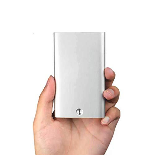 INFIKNIGHT Inf Xiaomi MIIIW Automatic Pop Up Business Card Holder Slim Metal Name Card Credit Card Case Storage Box