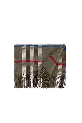 LANEROSSI Decke Fiesole, leicht und Primaverile, Baumwollmischung, 130 x 170 cm, Grün