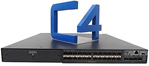 HP JC103A 5800-24G-SFP Switch - Switch - managed - 24 x Gigabit SFP + 4 x Gigabit SFP / 10 Gigabit SFP+ - rack-mountable