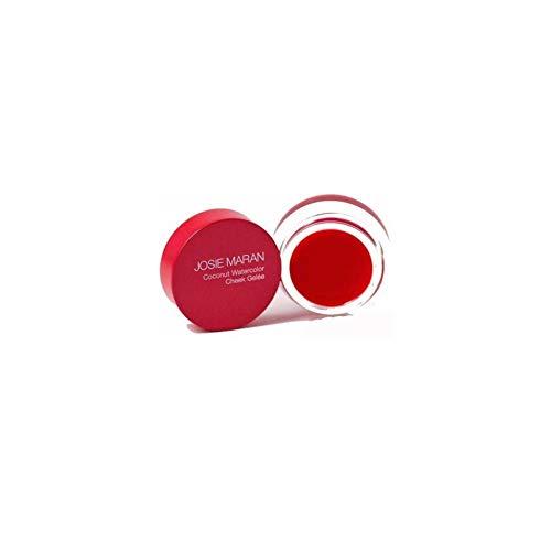 Josie Maran Coconut Watercolor Cheek Gelee (Full (.18oz/5.1g), Getaway Red)