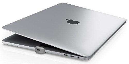 Maclocks MBPRLDGTB01 - Adattatore per blocco slot di sicurezza per Apple MacBook Pro con Touch Bar, colore: Argento