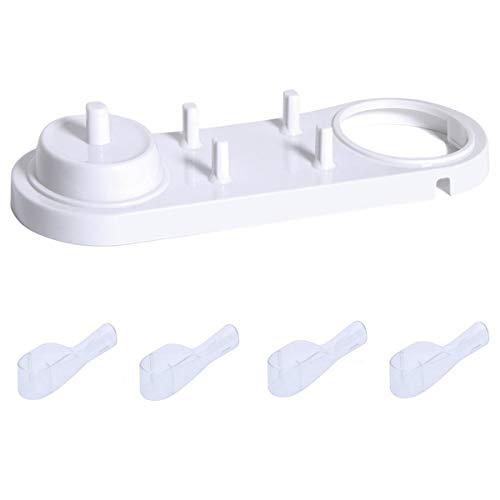 FLM BHT018 Support pour 4 têtes de brosse à dents électrique Braun Oral-B Chargeur à la maison et en voyage