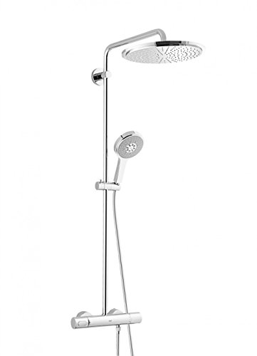Grohe Rainshower System 310 - Sistema de ducha con termostato incorporado, color cromo (Ref.27968000)