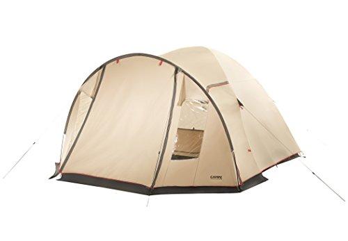 CAMPZ Lakeland 4P Zelt beige 2020 Camping-Zelt