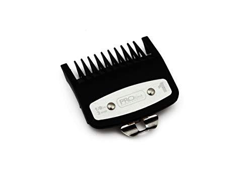 Línea profesional Peine de accesorios con guía de corte de ajuste de metal 1. 3mm - Compatible con las podadoras Wahl