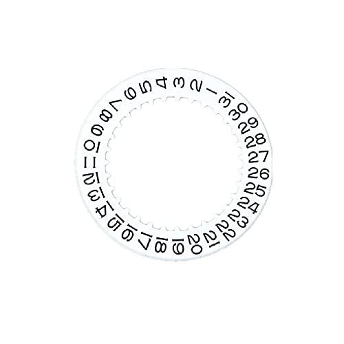 Rueda de disco de fecha calendario para reloj Rolex 3135 Movimiento original
