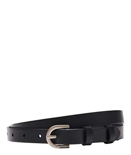 Liebeskind Berlin Damen 008-Belt2A-BeltVa-black-100 Gürtel, Black, 100