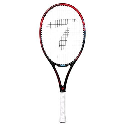 Raqueta de Tenis, Raqueta de Entrenamiento de Competencia de Estudiantes universitarios Masculinos y Femeninos, Raqueta de Carbono Completa Doble Profesional Individual