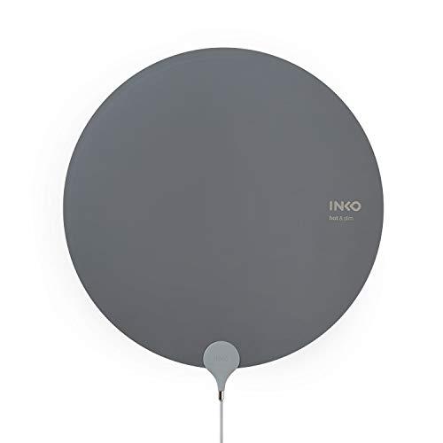 国内正規品 USBヒーター INKO Heating Mat HEAL 厚さ1mmのUSBヒーター くるっと丸めてコンパクト 携帯性も快適 軽量105g (IK16401-m(グレー))