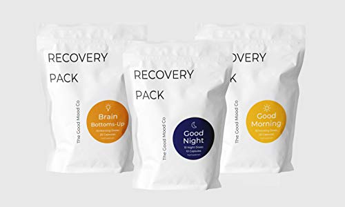 10 Day Pack Night Out Alcohol Rave Recovery - Blend of 36 Natural Nutrients, Herbs, Amino Acids & Vitamins