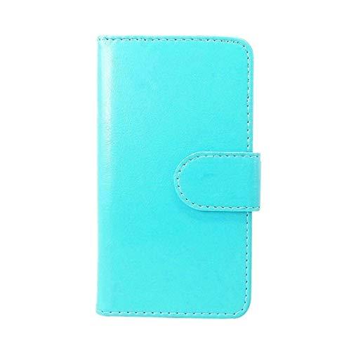 DQG Hülle für Gigaset GS280, Schutzhülle Tasche PU Leder mit Kreditkarten Geldfächern Schale & Weiche Hülle Handyhülle Standfunktion Cover für Gigaset GS280 (5.70
