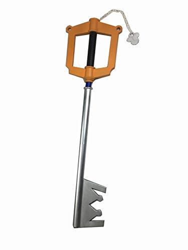 Pu Foam Prop Replica kingdom hearts cosplay 1:1 Scale Pu Foam Kingdom Heart Keyblade Keychain Prop Replica