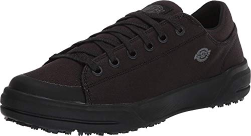 Dickies Women's Supa Dupa Low SF EH SR Sneaker, Blackout, 5.5 Wide