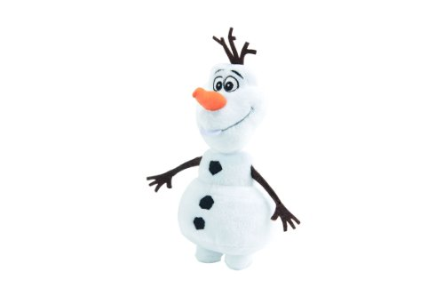 Simba Olaf Muñeco de Nieve Felpa Negro, Marrón, Naranja, Color Blanco - Juguetes de Peluche (Muñeco de Nieve, Negro, Marrón, Naranja, Color Blanco, Felpa, 250 mm)