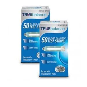 buy 100 TRUE Balance Test Strips with Box of Lancets Diabetes Care