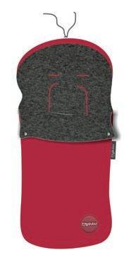 Pirulos 45531205 - Saco carro, algodón, 48 x 82 cm, color rojo