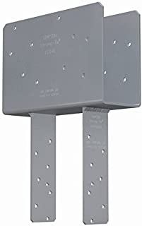 3 Pack Simpson Strong Tie CCQ46SDS2.5 4x Beam 6x Post Column Cap w/SDS Screws by Simpson Strong-Tie