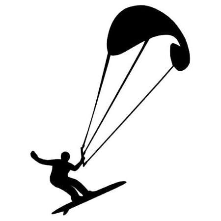 Generic Kite Surfing Kite Surfer Aufkleber Surf Surfen Sport Aufkleber In Den Größen 10cm 15cm 20cm Oder 25cm 144 2 1 25cm Mehrfarbig Garten