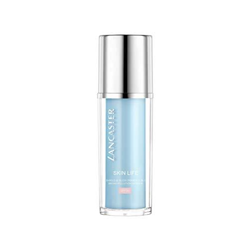 LANCASTER Skin Life Shield & Glow Primer 2in1 LSF 30, Anti Aging Creme, Schutz vor freien Radikalen, UV-Schutz, 30 ml