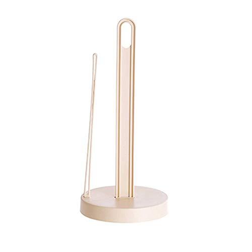 XQxiqi689sy - Soporte de plástico para rollo de papel de cocina, dispensador de pañuelos talla única beige