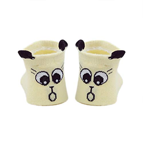CFPacrobaticS Flauschige Warme Winter Socken Kleinkind Jungen Mädchen Cartoon Tier Kleine Ohren Elastischer Baumwolle Anti-Rutsch-weiche Thermische Boden Bett Socken 7#