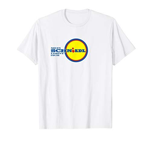 Mein Schniedl lohnt sich - Lustige Parody T-Shirt