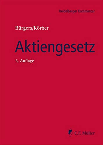 Aktiengesetz (Heidelberger Kommentar)