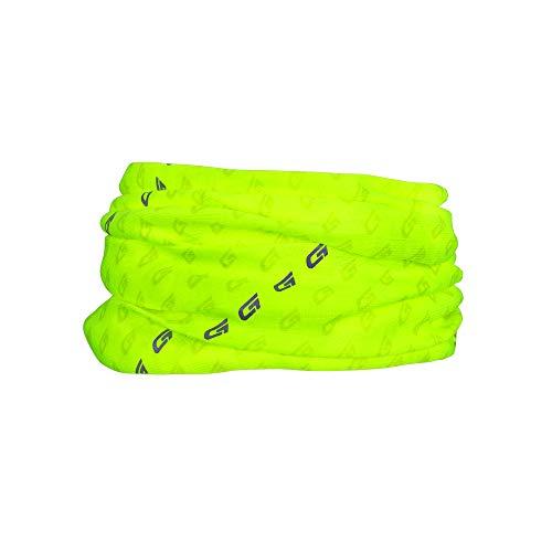 GripGrab Erwachsene Multifunctional Halstuch Headwear Multi Purpose, Gelb Hi-Vis Reflektierend, Onesize (54-63 cm)