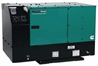 12KW Cummins Onan QD 12000 Single Phase Diesel Commercial Mobile 100/50A Generator - 12.0HDKCD-2209